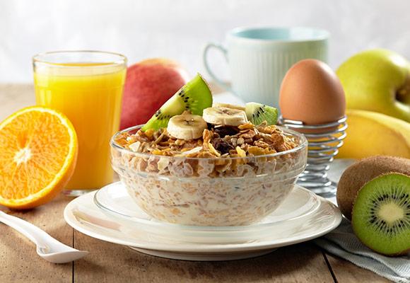 Започнете със закуската